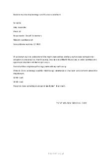 Kartoteka przypadków klinicznych chorób nerwowo-mięśniowych (2006) - opis nr 16/06