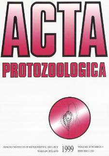 Acta Protozoologica, Vol. 38, Nr 4 (1999)