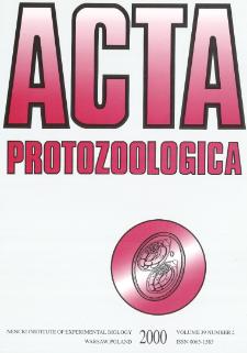 Acta Protozoologica, Vol. 39, Nr 2 (2000)