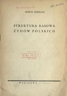 Struktura rasowa Żydów polskich