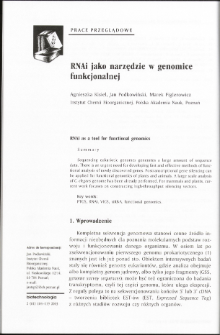 RNAi as a tool for functional genomics