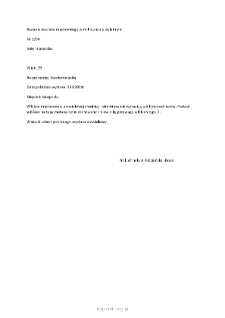Kartoteka przypadków klinicznych chorób nerwowo-mięśniowych (2004) - opis nr 2/04