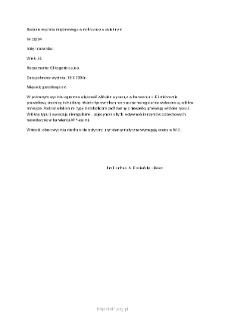 Kartoteka przypadków klinicznych chorób nerwowo-mięśniowych (2004) - opis nr 18/04