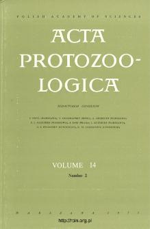 Acta Protozoologica, Vol. 14, Nr 2 (1975)