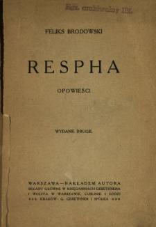 Respha : opowieści