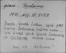 Kartoteka Słownika staropolskich nazw osobowych; Ruch - Rud