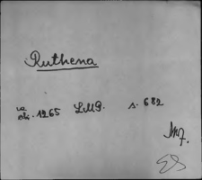Kartoteka Słownika staropolskich nazw osobowych; Ruth - Ryb