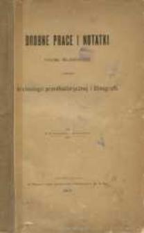 Drobne prace i notatki Erazma Majewskiego z dziedziny archeologii przedhistorycznej i etnografii
