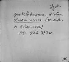 Kartoteka Słownika staropolskich nazw osobowych; Rzeź - Sab