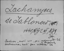 Kartoteka Słownika staropolskich nazw osobowych; Sach - Sad