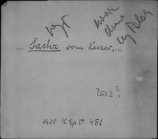Kartoteka Słownika staropolskich nazw osobowych; Sae - Sag