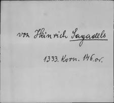 Kartoteka Słownika staropolskich nazw osobowych; Sag - Sch