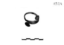 bracelet with spiral discs (Łubna) - chemical analysis