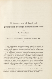 Rozprawy Akademii Umiejętności. Wydział Matematyczno-Przyrodniczy.