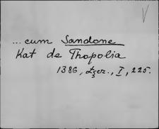 Kartoteka Słownika staropolskich nazw osobowych; Sed - Sek