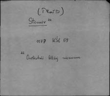 Kartoteka Słownika staropolskich nazw osobowych; Stom - Strz