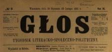 Głos : tygodnik literacko-społeczno-polityczny 1894 N.6