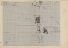 KZG, VI 401 C, plan archeologiczny wykopu, cmentarz (groby 17/59, 18/59, 19/59)