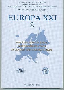 Europa XXI 17 (2008)