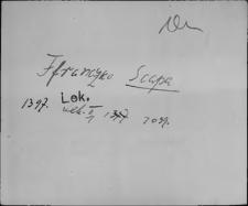 Kartoteka Słownika staropolskich nazw osobowych; Szka-
