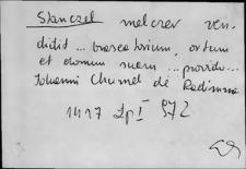 Kartoteka Słownika staropolskich nazw osobowych; Szt - Szwan