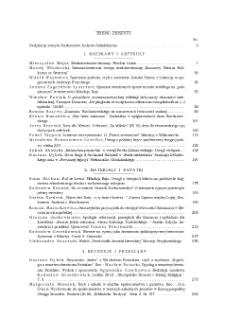 Pamiętnik Literacki, Z. 2 (2020), Treść zeszytu