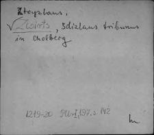 Kartoteka Słownika staropolskich nazw osobowych; Śwircz
