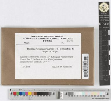 Byssocorticium atrovirens (Fr.) Bondartsev & Singer ex Singer