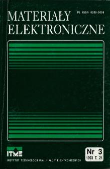 Spis treści 1993 T.21 nr 3