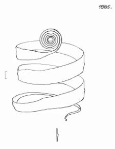 bracelet (Więcław) - chemical analysis