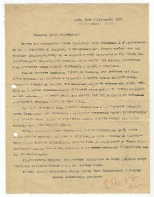 List Kazimierza Twardowskiego do Ivana Mirczuka : 5.11.1927