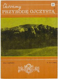 Wymarłe i ginące rośliny naczyniowe polskich Karpat