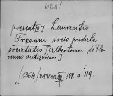 Kartoteka Słownika staropolskich nazw osobowych; Wyłączone obce Czesi, Węgrzy, Włosi