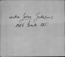 Kartoteka Słownika staropolskich nazw osobowych; Wyłączone żydzi