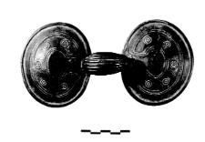 spectacle fibula (Mosina) - chemical analysis