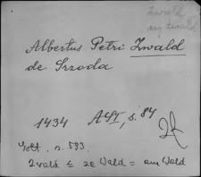Kartoteka Słownika staropolskich nazw osobowych; Zw - Zy