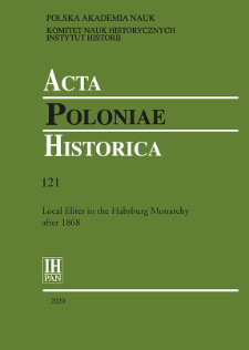 A Municipality against the State: Power Relations between State and Local Self-Government Representatives, Based on the Example of Bohemia at the Turn of the Nineteenth Century