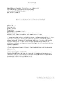 Files for neuromuscular diseases (2011) - nr 1/11-1