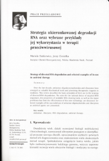 Strategy of directed RNA degradation and selected examples of its usein antiviral therapy
