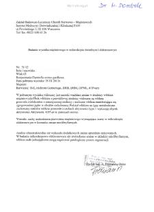 Files for neuromuscular diseases (2012) - nr 51/12