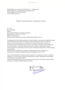 Files for neuromuscular diseases (2012) - nr 25/12