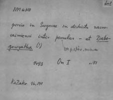 Kartoteka Słownika staropolskich nazw osobowych; Dab - Dan-