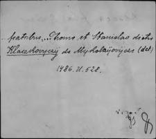 Kartoteka Słownika staropolskich nazw osobowych; Kł - Km