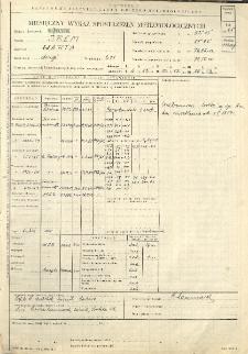 Miesięczny wykaz spostrzeżeń meteorologicznych. Maj 1965