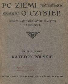 Po ziemi ojczystej!.. : obrazy najcenniejszych pamiątek narodowych. Dział 1, Katedry polskie