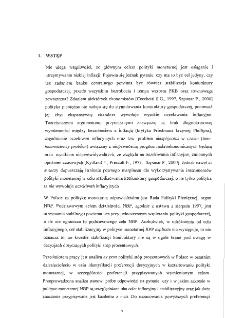 Zastosowanie funkcji CES do oszacowania preferencji decyzyjnych w polityce stóp procentowych w Polsce
