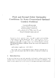 First and second order optimality conditions for state constrained optimal control problems