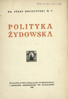 Polityka żydowska