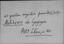 Kartoteka Słownika staropolskich nazw osobowych; Maz - Mik
