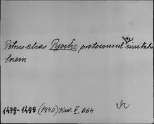 Kartoteka Słownika staropolskich nazw osobowych; Pio - Petrus